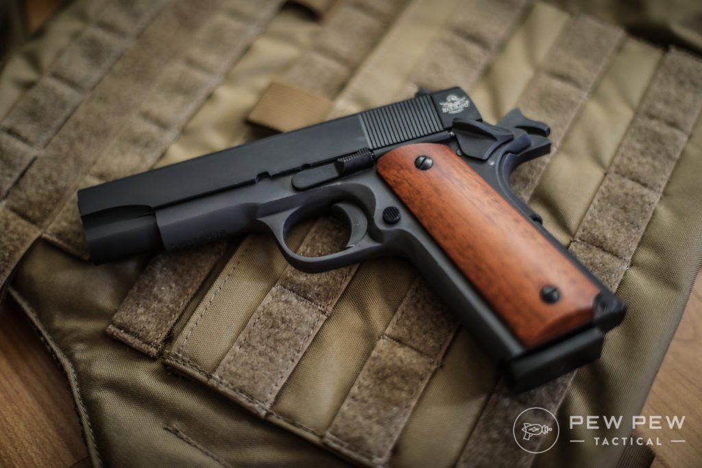 best 1911 pistols for the money 2018 pew pew tactical