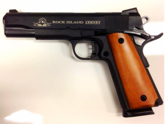 Colt M1911 from Rock Island Armory
