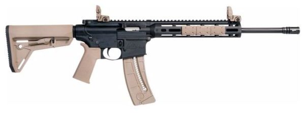 Smith & Wesson M&P 15-22 Sport in Khaki