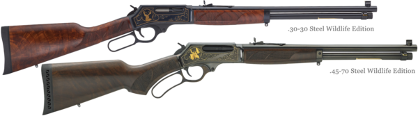 Henry Large Caliber Rifles Steel Wildlife Editions
