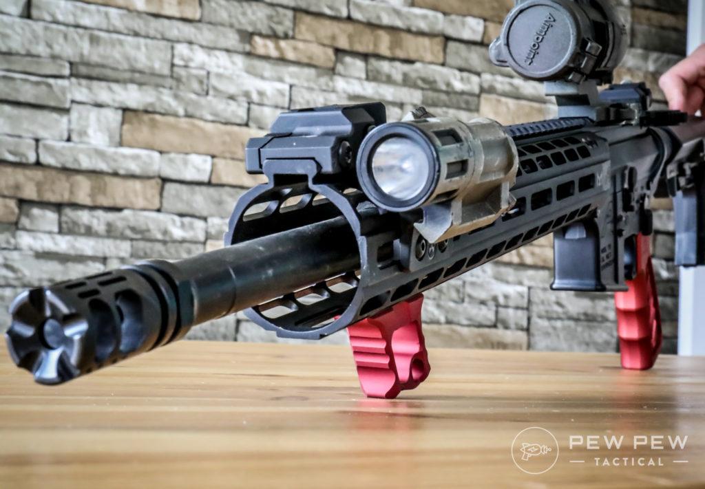 Tyrant CNC Halo Handstop & LWP Grip