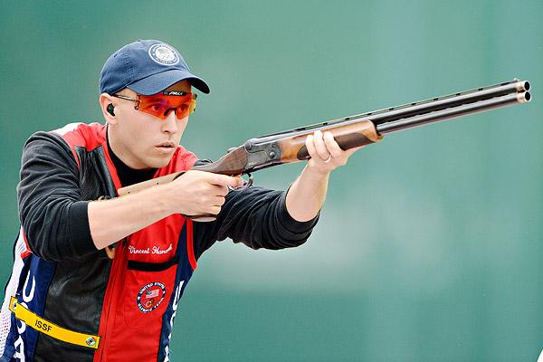 US olympic skeet shooter vincent hancock