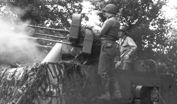 World War II Vehicle Mounted M2 Machine Gun