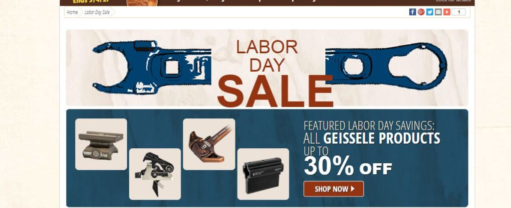 brownells labor day sale prices