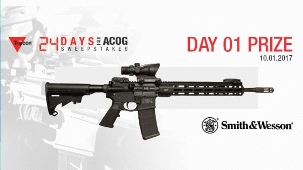 24 Days of ACOG Day 1 Prize Smith & Wesson Rifle