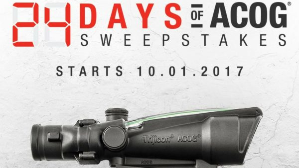 24 Days of ACOG Sweepstakes Logo