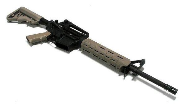 AR-15 with Magpul M-LOK handguard