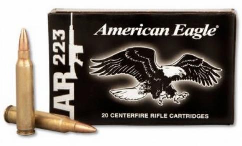 American Eagle XM193 55 gr