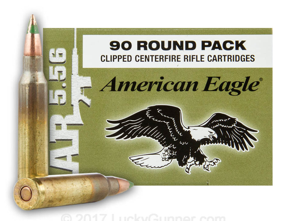 American Eagle XM855 62 gr (90 Rounds)