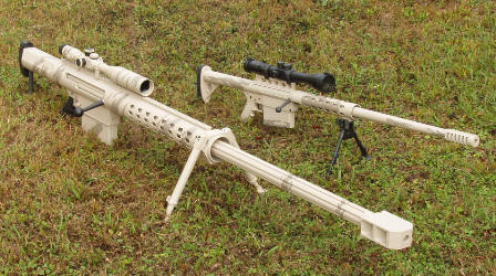 Anzio Ironworks 20mm Rifle Compared to 50 Cal.