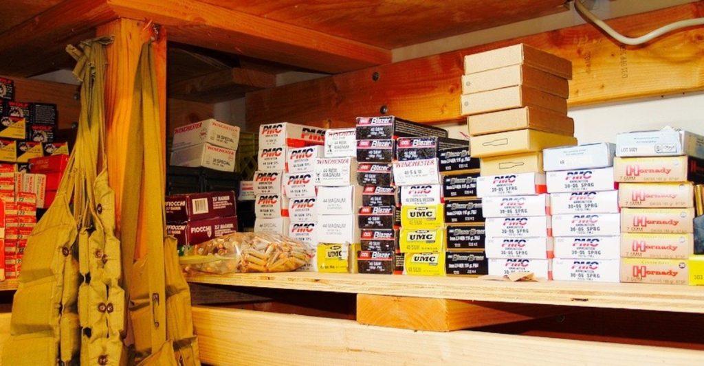 Bulk Ammo Storage