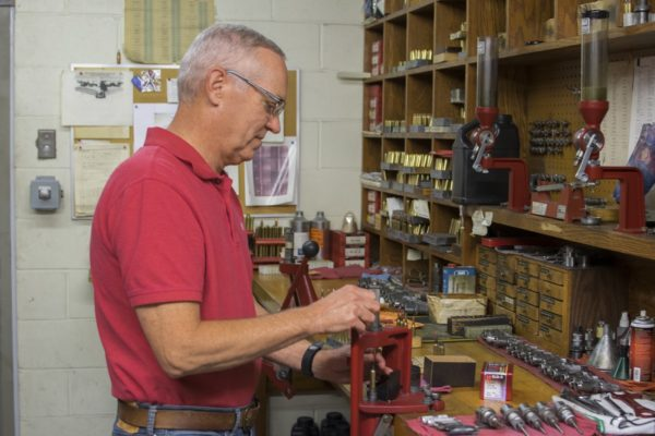 Dave Emary in the Hornady Workshop