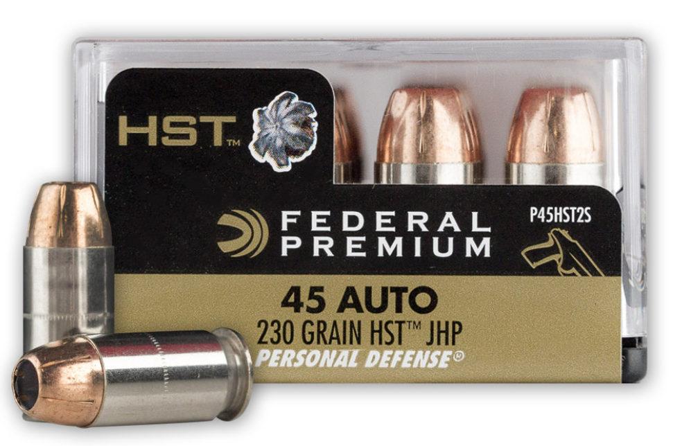 Federal .45 ACP 230 gr HST