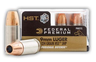 Federal HST 9mm 124 gr