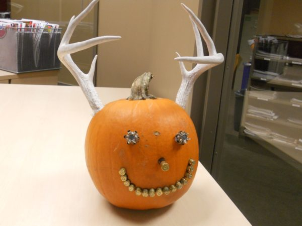 Hunting Themed Jack o' lantern