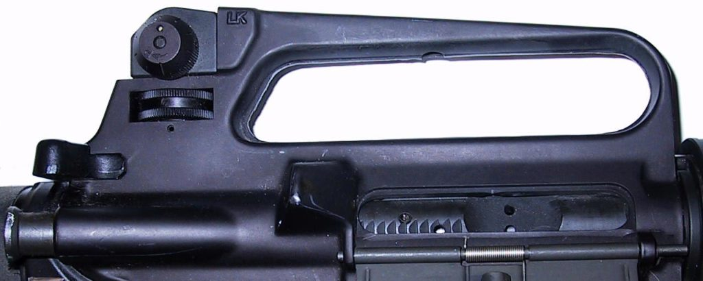 M16A2 Upper Close Up