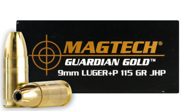 Magtech Guardian 9mm +P 115 gr