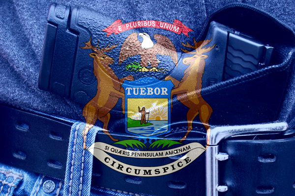 Michigan flag concealed carry