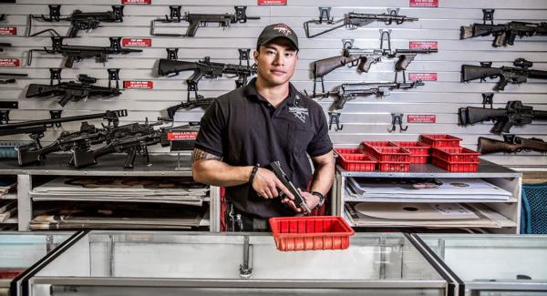 Nevada gun store