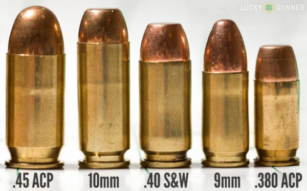 Side-by-Side Comparison of the Most Popular Handgun Cartridges