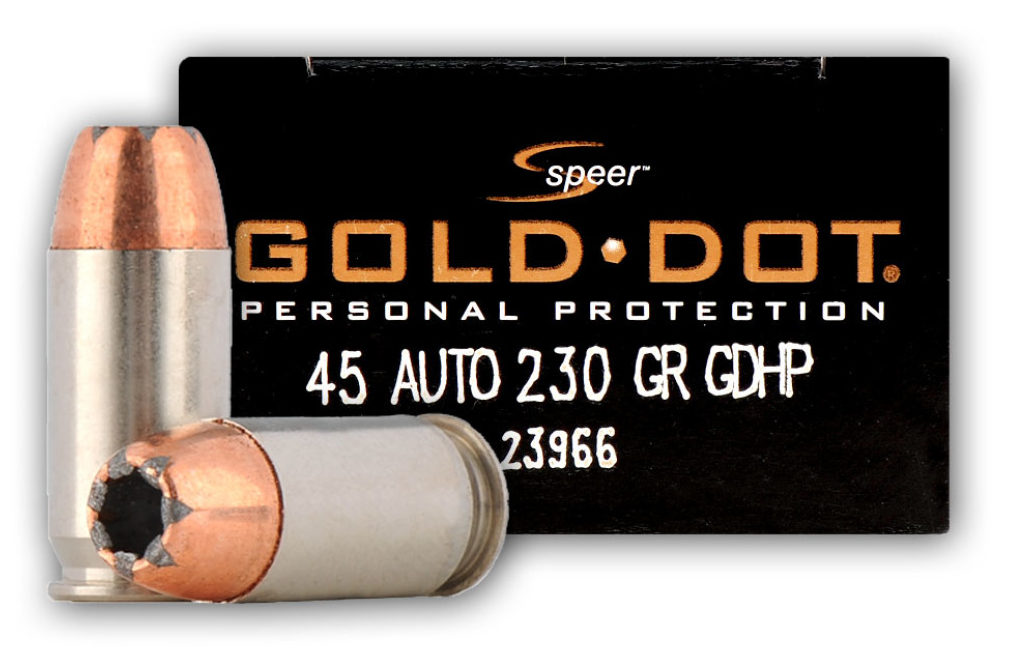 Speer .45 ACP 230 gr Gold Dot