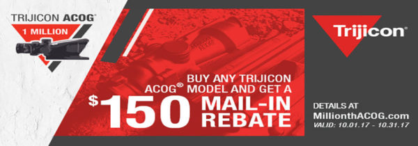 Trijicon Rebate Banner