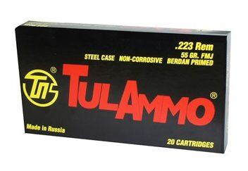 Tula .223 55 gr