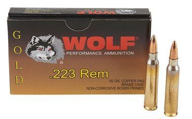 Wolf Gold .223 55 gr