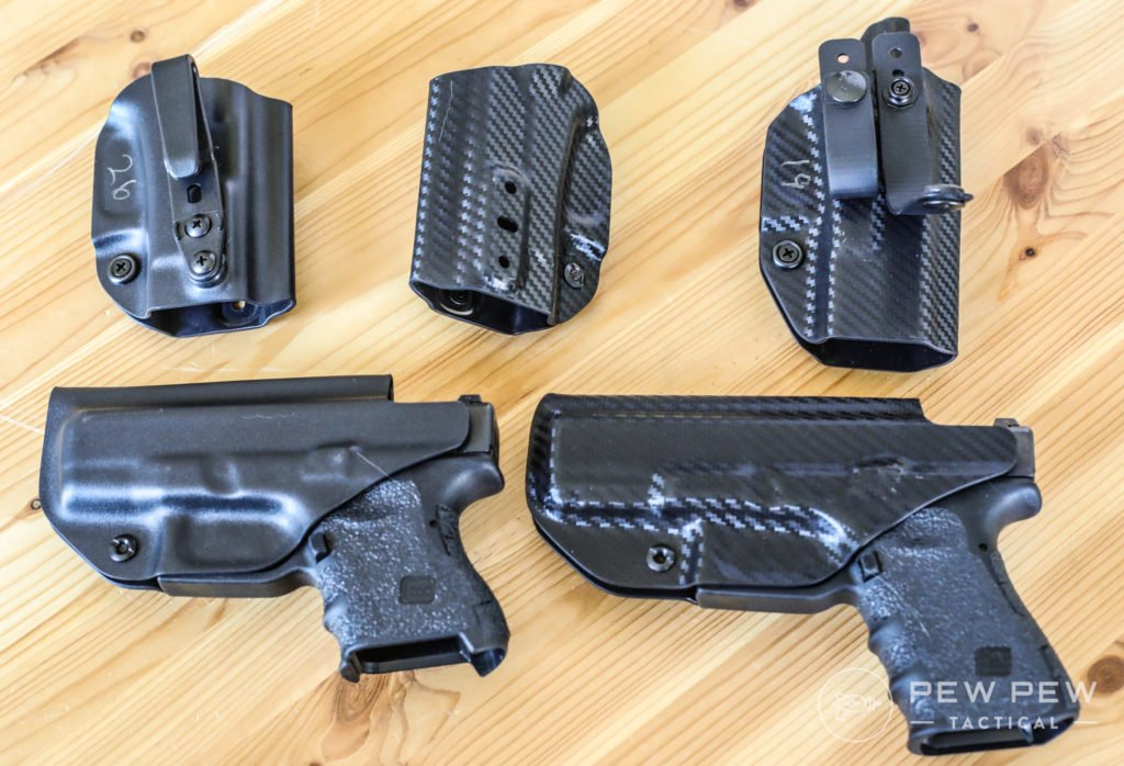 Concealment Express Holsters with G19 and G26