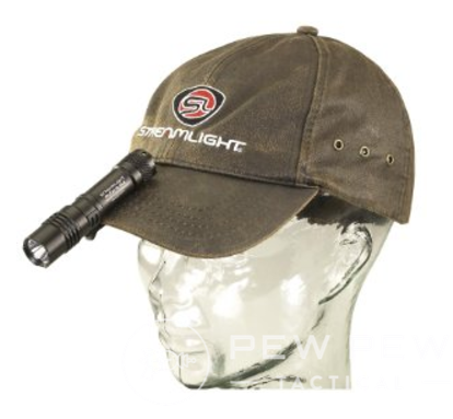 Streamlight on Cap