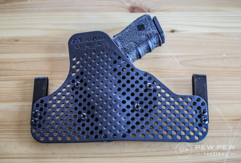 Matchpoint G19 Holster, Back