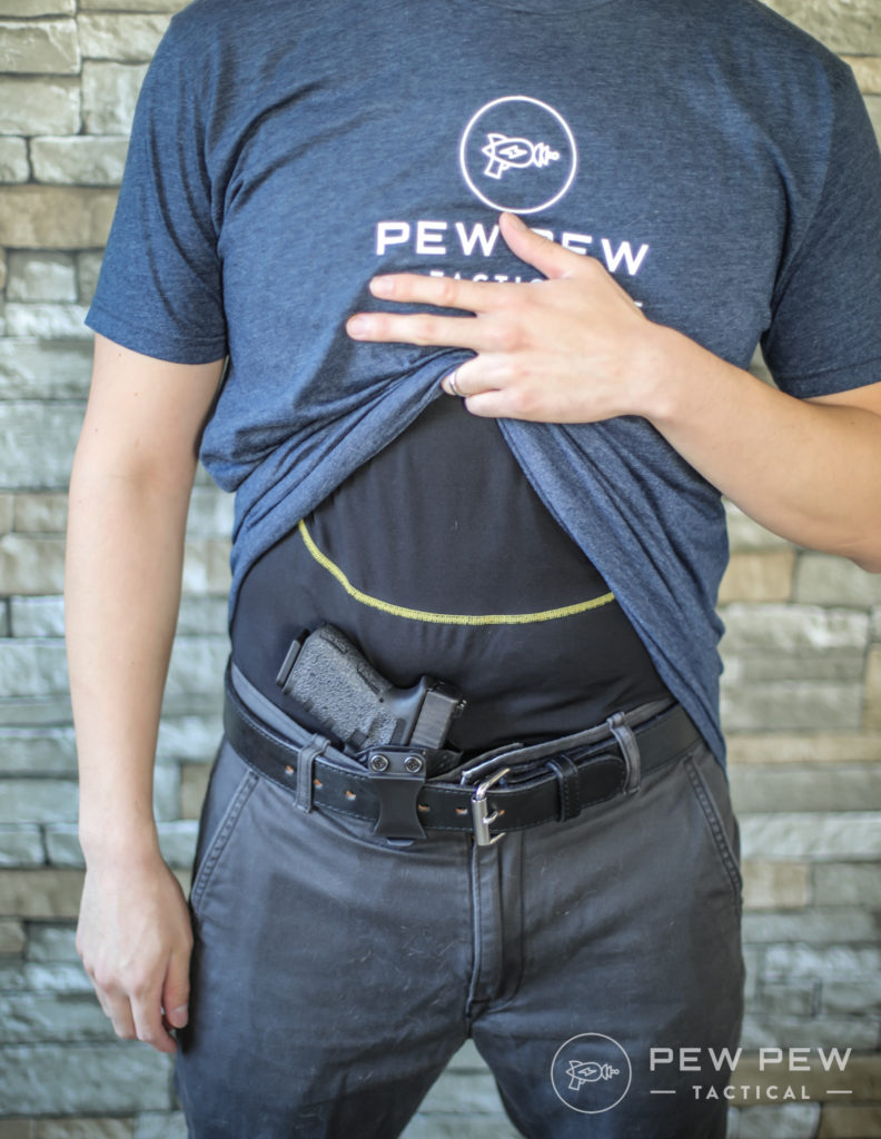G19 AIWB Shirt Lifted