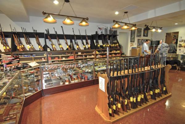 A California Gun Store