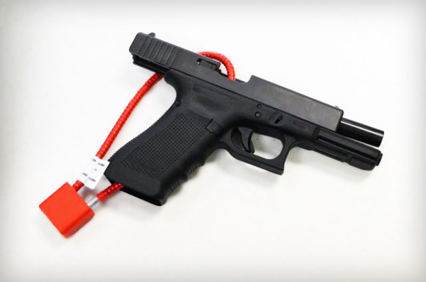 Cable Lock on a Glock