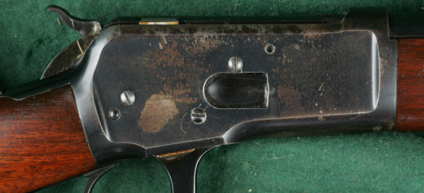 Flaking Winchester Rifle