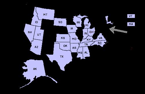 Massachusetts reciprocity