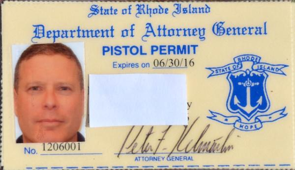 Rhode Island Pistol Permit