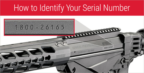 Serial Number for Ruger Precision Rifle