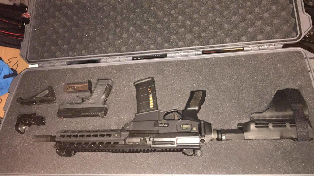 Sig Mcx pistol