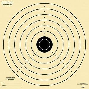 """Standard Army """"L"""" Target"""