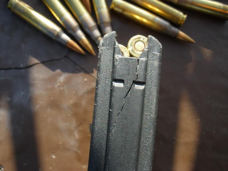 Magpul mag broken