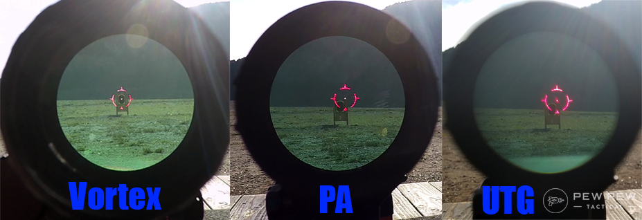 3x Magnifier Comparison. Holographic