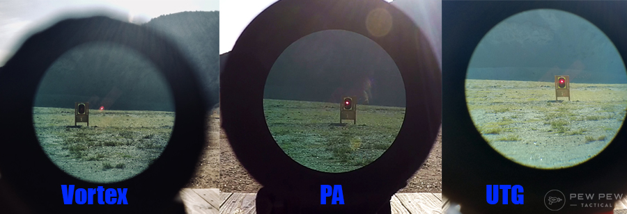 3x Magnifier Comparison. Red Dot