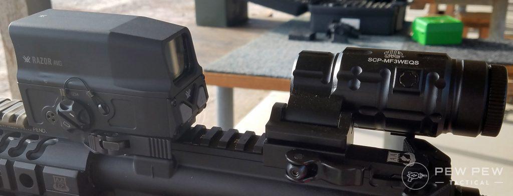 UTG 3x Magnifierwith Vortex AMG UH-1