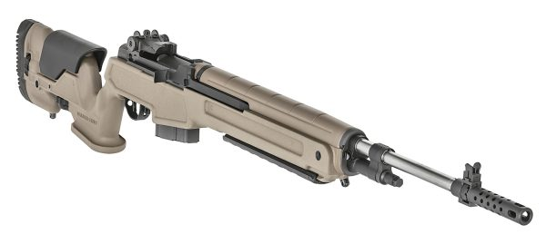 SA M1A 6.5 Creedmoor Rifle with Flat Dark Earth Precision Stock