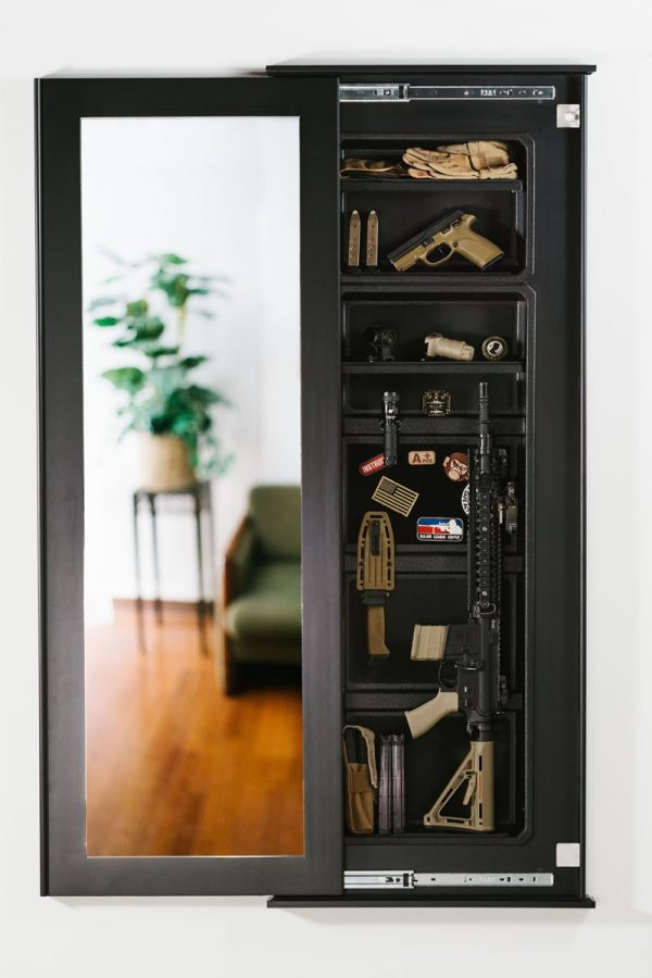 7 Best Hidden Gun Safes for Home: Security & Subterfuge ...