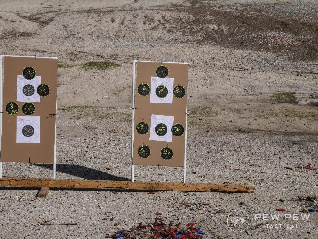 End Pistol Target