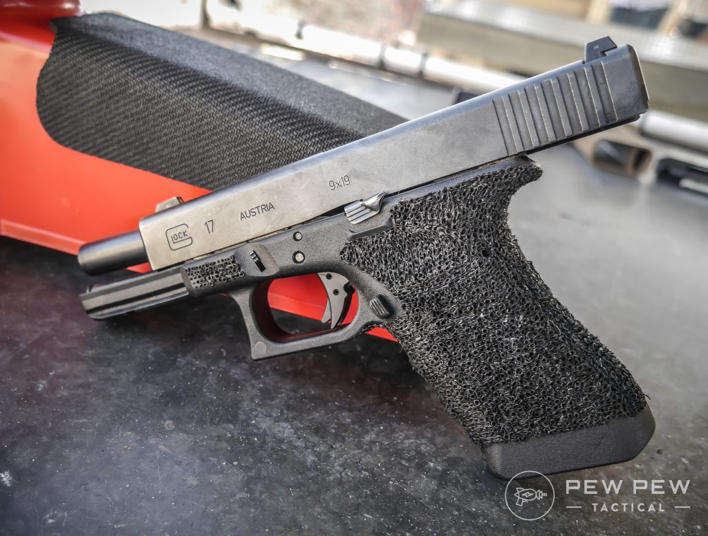 Test Glock with Zev Fulcrum Ultimate Trigger