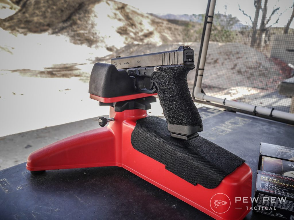 Pistol Handrest