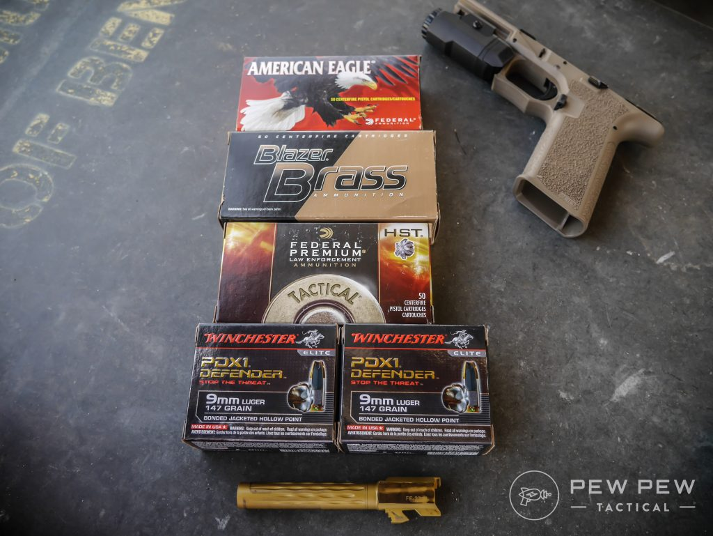 Pistol Ammo Tested